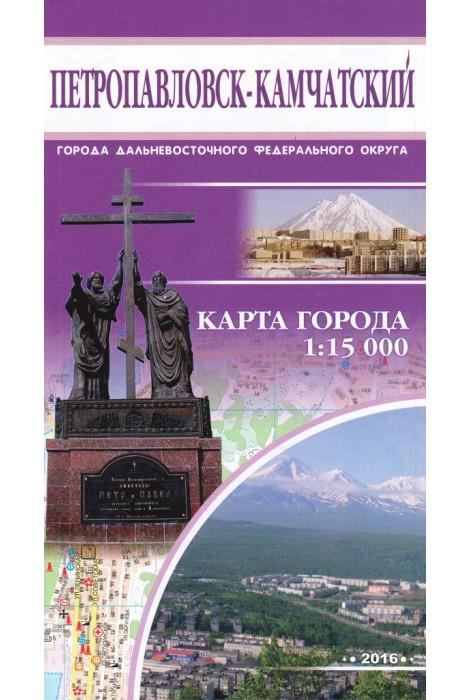 Петропавловск-Камчатский. Карта...