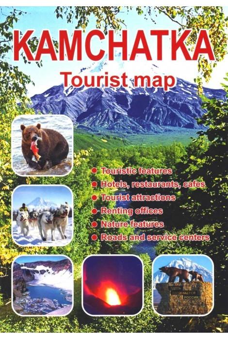 Камчатка. Туристическая карта...